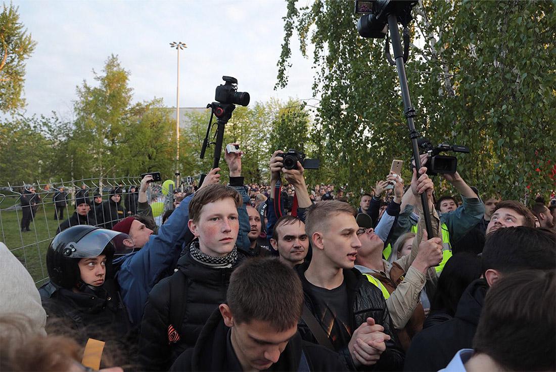 Ранее министерство общественной безопасности Свердловской области призвало екатеринбуржцев отказаться от участия в несогласованных протестах и предупредило об ответственности за такие действия.