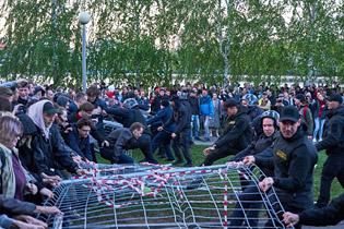 Протесты из-за храма в Екатеринбурге