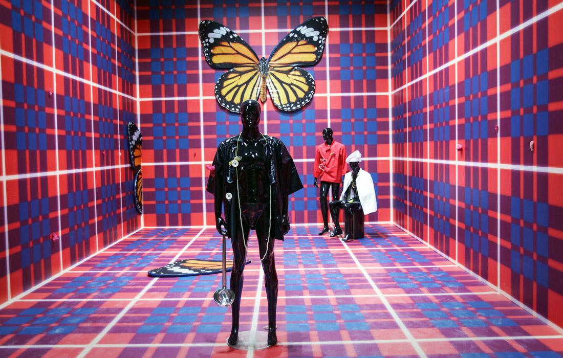 Инсталляция британской художницы Антеи Гамильтон