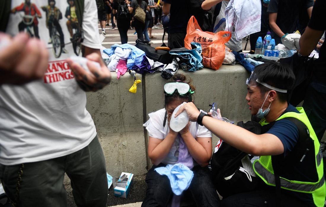 Более двадцати человек пострадали в результате столкновений