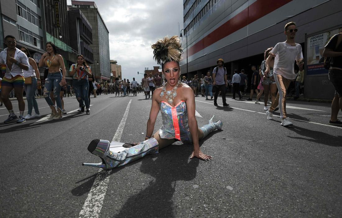 В Коста-Рике прошел парад в поддержку прав ЛГБТ-сообщества