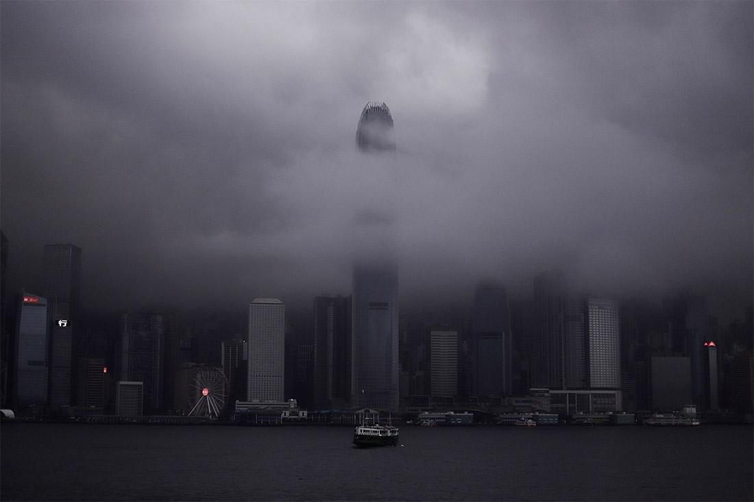 В Гонконге пасмурно