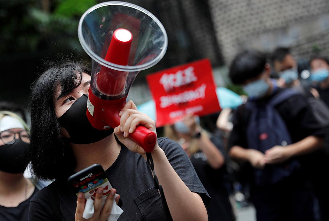 Похоже, протест скоро станет неотъемлемой частью пейзажа города Гонконг. Сегодня, как и в последние несколько недель, тут протестуют против закона об экстрадиции.