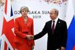 Встреча премьер-министра Великобритании Терезы Мэй с президентом России Владимиром Путиным