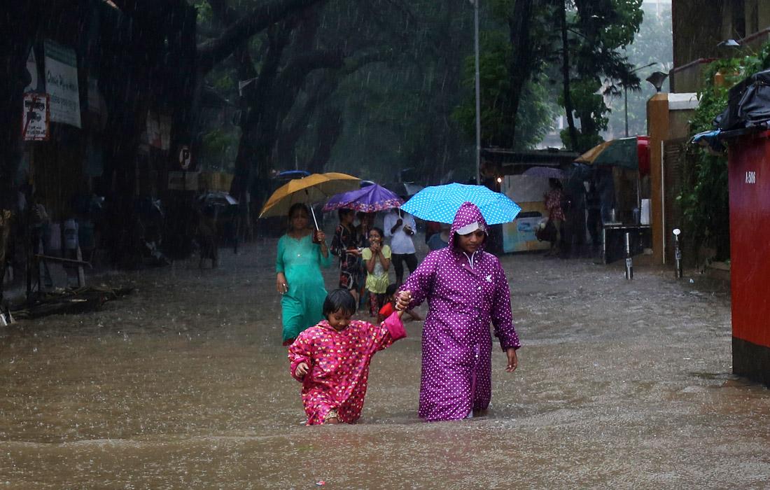 Сезон муссонных дождей в Индии
