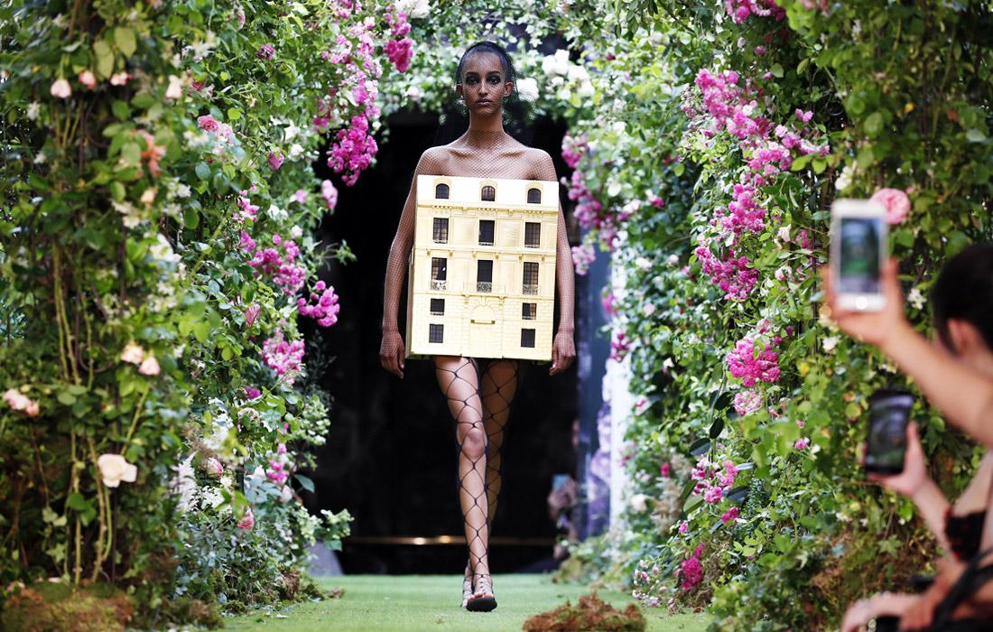 Кутюрная коллекция Christian Dior