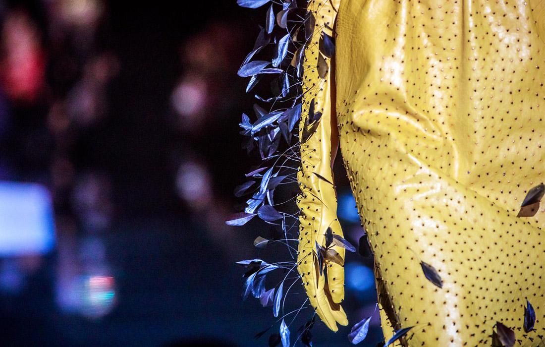 Показ одежды американского дизайнера Дэниела Розберри для Schiaparelli