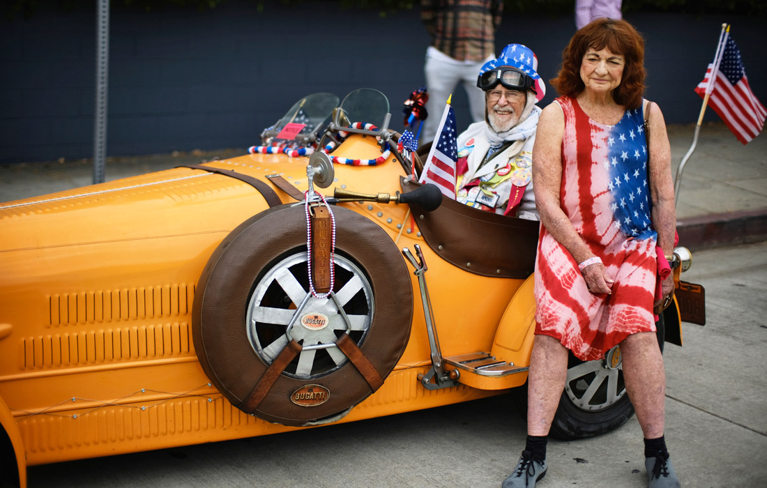 Жители США отпраздновали 243-ю годовщину со дня обретения независимости