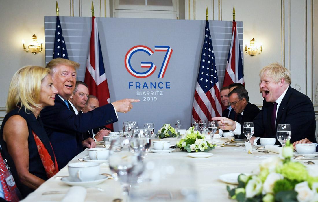 В ходе переговоров президент США Дональд Трамп и премьер-министр Великобритании Бориса Джонсон обсудили дальнейшее сотрудничество двух стран после Brexit
