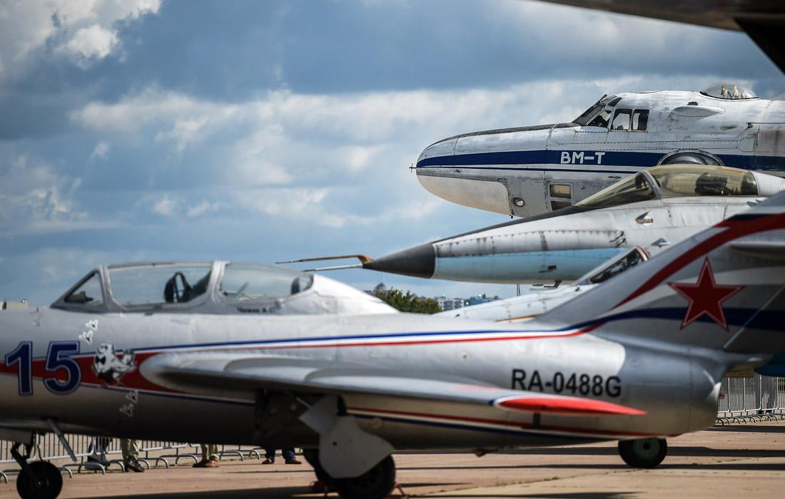 Авиатехника на МАКС-2019