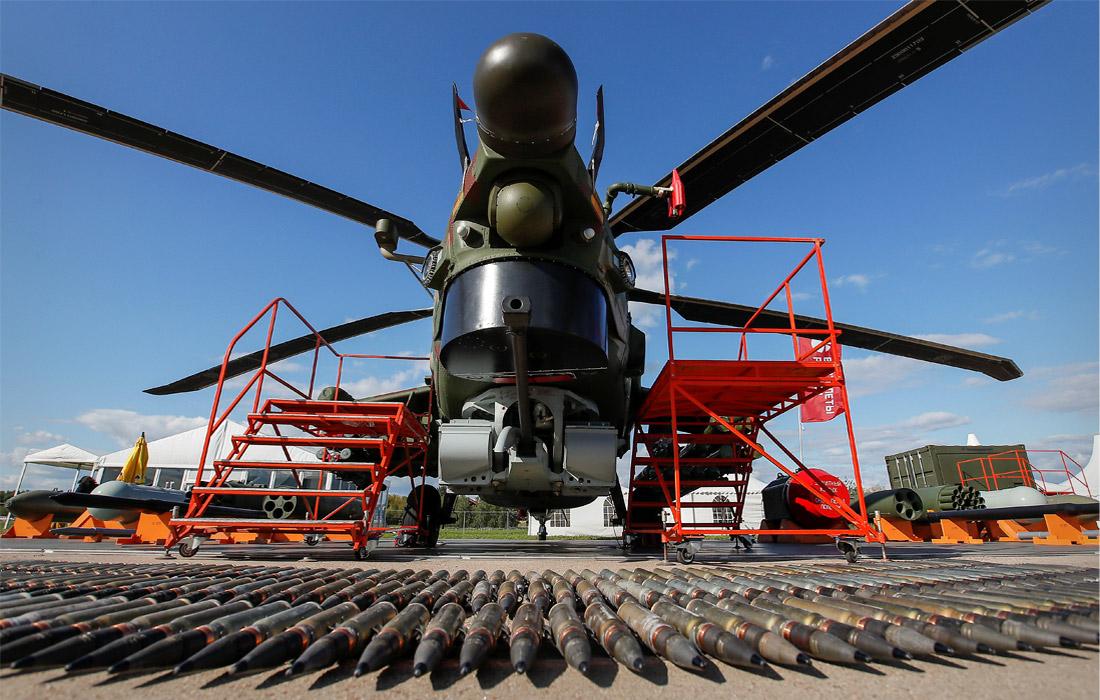 Военный вертолет Ми-28Н