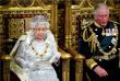 Текст тронной речи, с которой королева традиционно выступает в парламенте, составил кабинет министров Великобритании. Елизавета II выступила с речью перед британским парламентом уже 65-й раз.