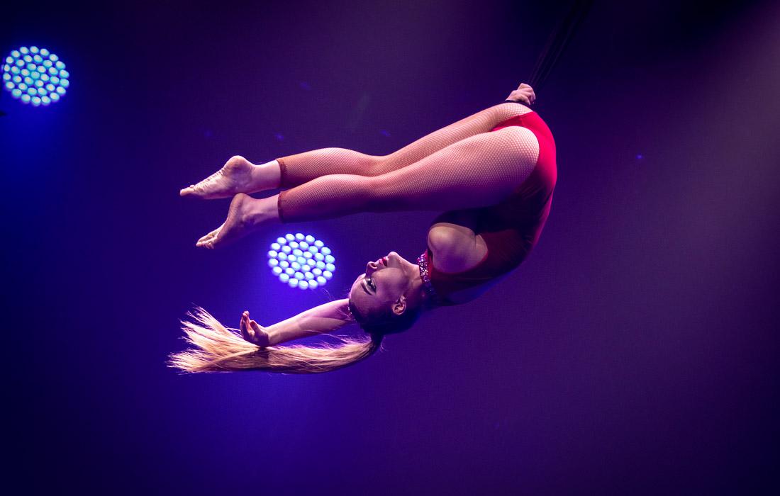 Участница Международного циркового фестиваля в Чжухае, Китай