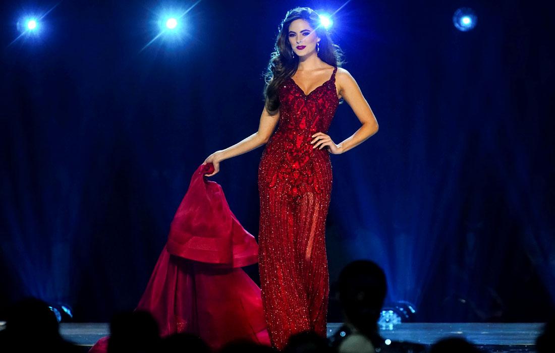 """25-летняя """"Мисс Мексика"""" София Арагон заняла третье место в конкурсе"""