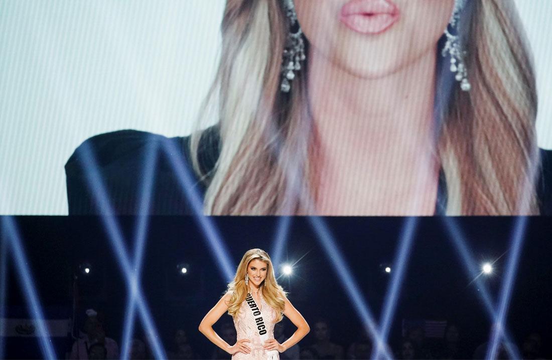 """Второе место досталось 24-летней """"Мисс Пуэрто-Рико"""" Мэдисон Андерсон"""
