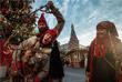 Театрализованное представление на Красной площади