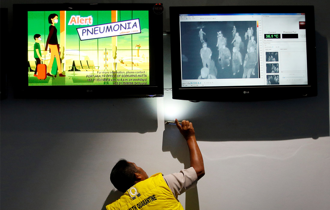 Власти принимают меры по предотвращению распространения вируса. В аэропортах установлены тепловизоры для контроля приезжающих пассажиров.