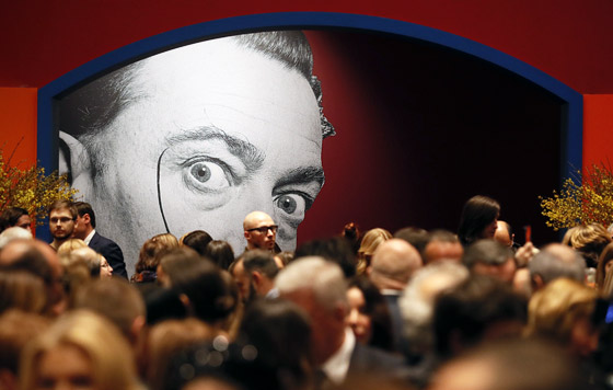 Выставка Сальвадора Дали в Москве
