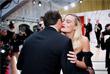 """Встреча Леонардо Ди Каприо и Марго Робби на церемонии вручения премии """"Оскар"""""""