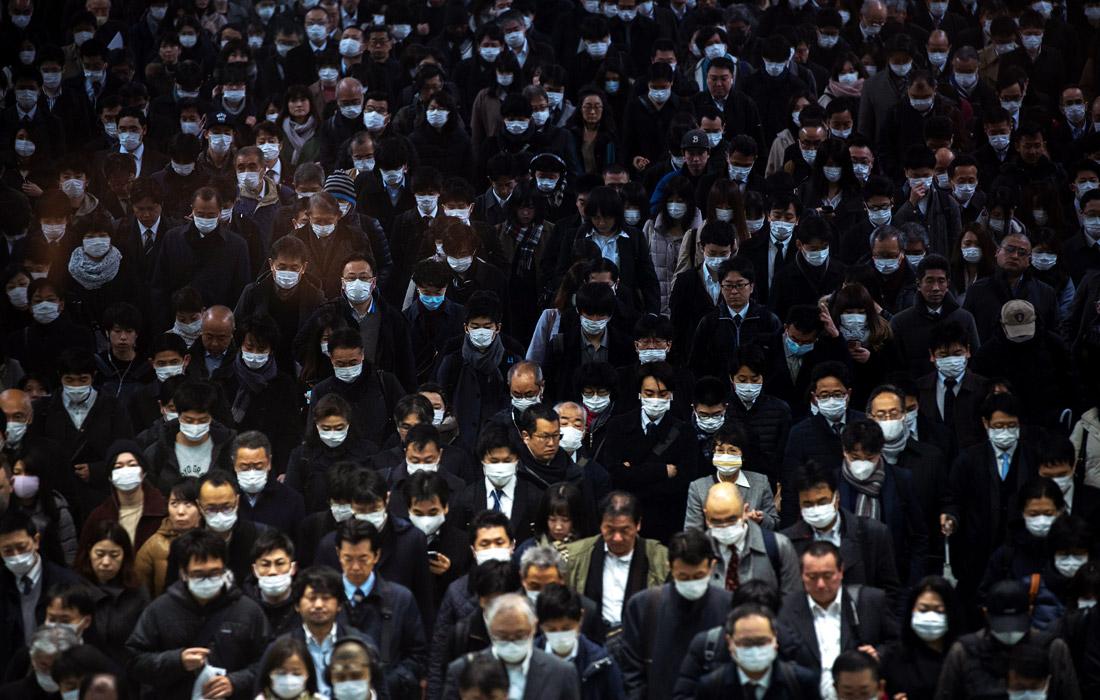 3 марта. В Японии допустили возможность переноса Олимпиады из-за вируса. На территории страны число инфицированных составляет 980 человек, из них 705 приходится на пассажиров и членов экипажа круизного лайнера Diamond Princess, стоящего на карантине в Йокогаме.