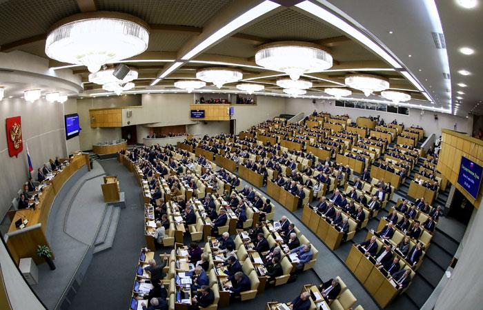 Украинские депутаты впервые за шесть лет посетили заседание Госдумы