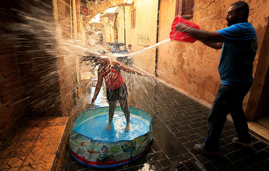 В Ливане установилась жаркая погода