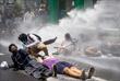9 июня. В Непале прошла акция протеста из-за неэффективности принятых правительством мер для борьбы с пандемией коронавируса COVID-19.