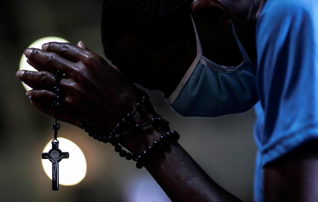 6 июля. Церкви в Рио-де-Жанейро снова открыли свои двери для прихожан.