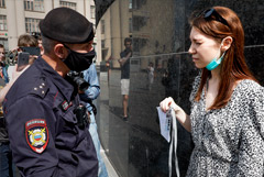 На Лубянке задержали уже семерых журналистов