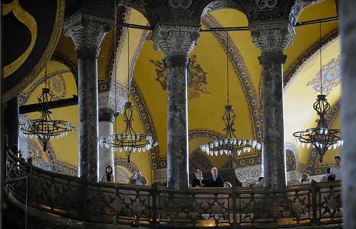 Эрдоган гарантировал Путину, что туристов будут пускать в Святую Софию