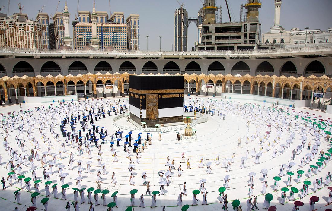 Паломникам не разрешат прикасаться к мусульманской святыне Каабе