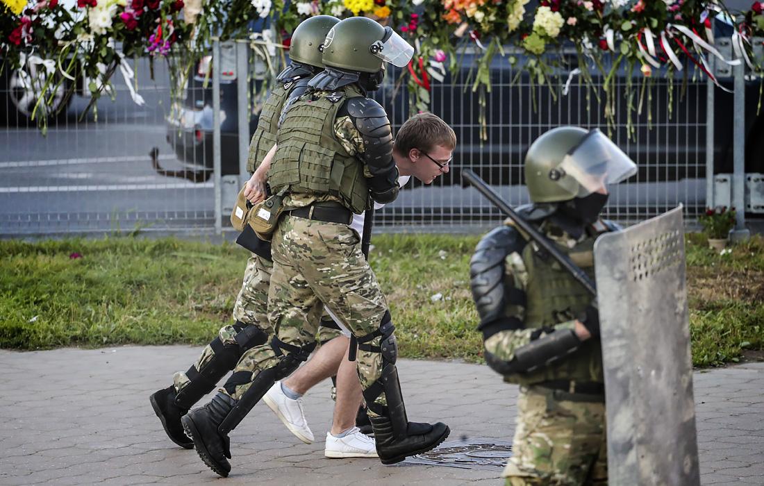 Протесты в Минске - фото 3 из 22