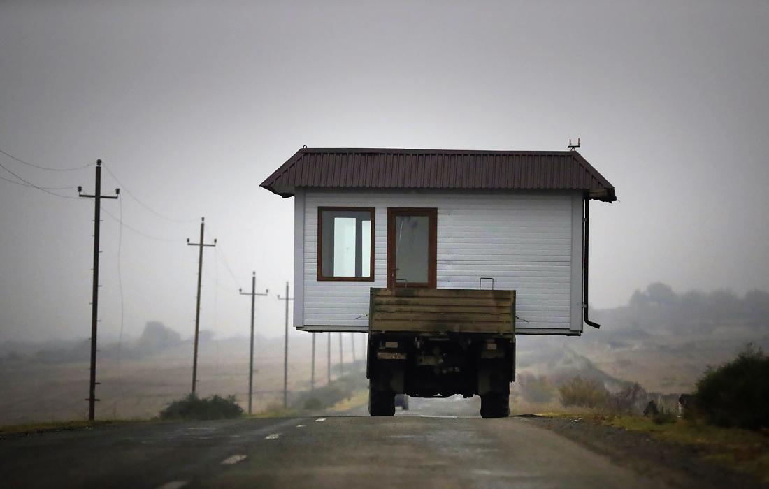 Жители Нагорного Карабаха покидают регион