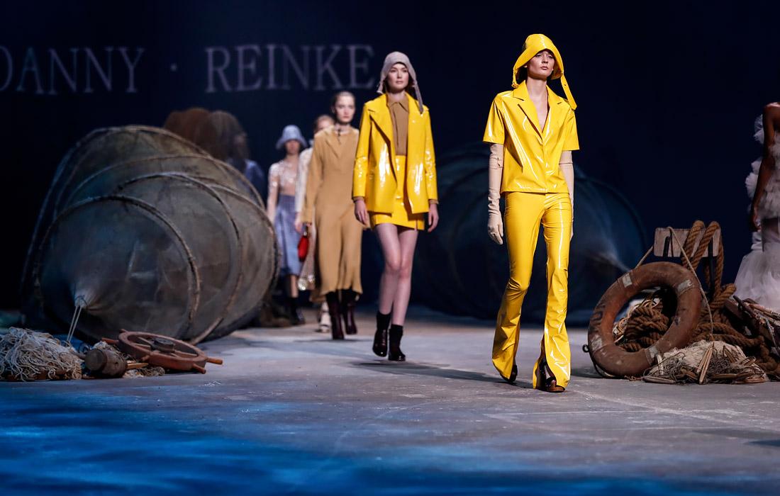 В Берлине в рамках Недели моды состоялся показ коллекции осень-зима дизайнера Дэнни Рейнке