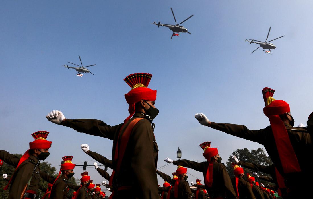В Нью-Дели прошла репетиция парада в честь Дня Республики