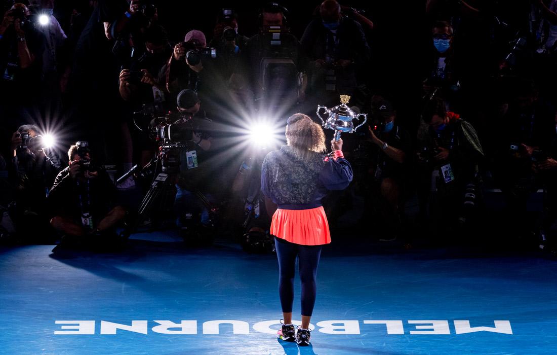 Японская теннисистка Наоми Осака во второй раз выиграла Australian Open