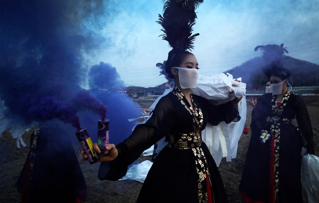 Фестиваль огня в Сихыне, Южная Корея