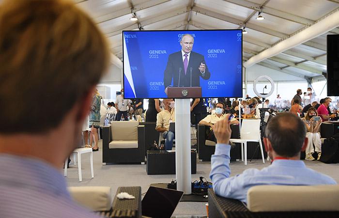 Путин заявил о поддержке Штатами враждебных стране организаций
