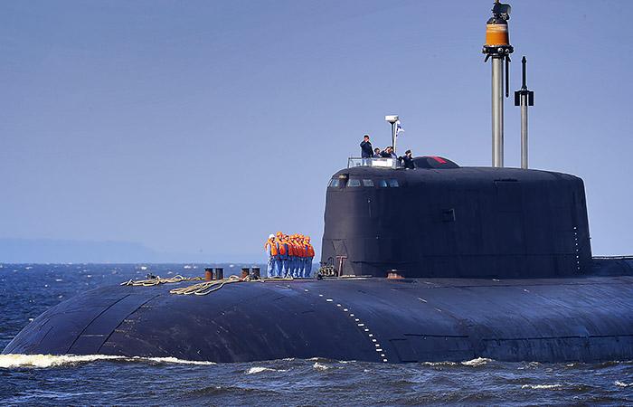 Источник опроверг сообщения об инциденте с атомной подлодкой РФ у берегов Дании