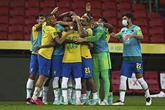 Бразилия сместила Францию со второго места в обновленном рейтинге ФИФА