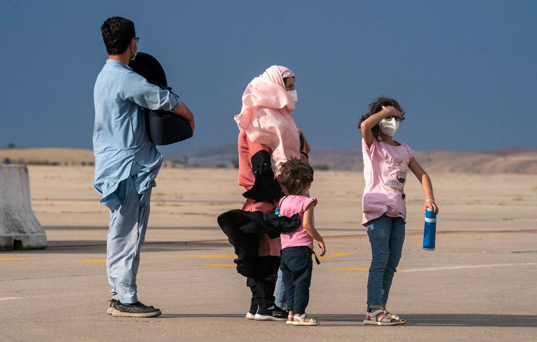 Самолет с 260 эвакуированными из Афганистана, прибывший на авиабазу Торрехон в провинции Мадрид