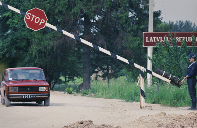 Будут визы Латвийской республики