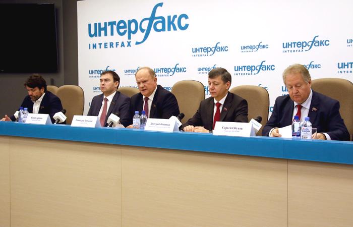 Зюганов предложил обновить состав правительства