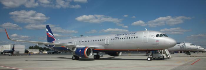 """Авиакомпания """"Аэрофлот"""" увеличила перевозки в январе на 13,4%, до 2,8 млн пассажиров"""