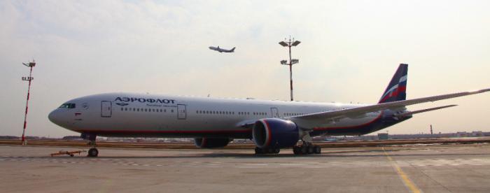"""Рост перевозок группы """"Аэрофлот"""" в декабре замедлился до 0,9%, зарубежные просели на 2,3%"""
