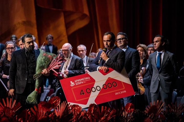 Концертное агентство Berin Art Management и звезды Анна Нетребко и Юсиф Эйвазов поддержали подопечных фонда «Арифметика добра»