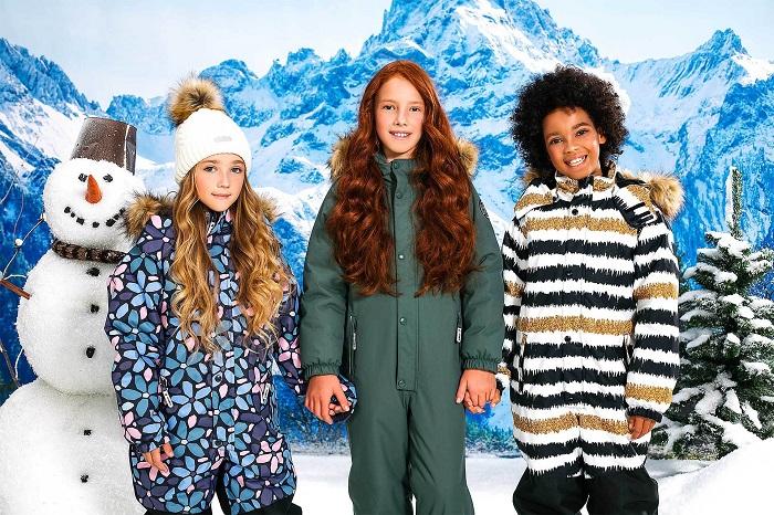 Инновационная зимняя одежда для детей BJÖRKA