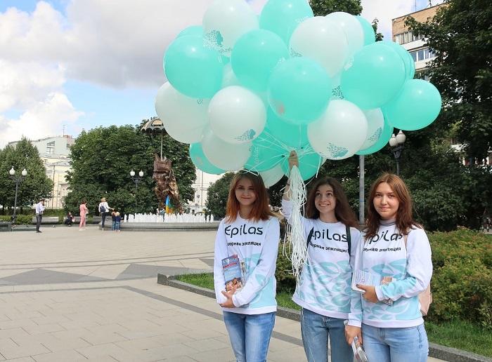 EPILAS подарил москвичам праздник в последние дни лета