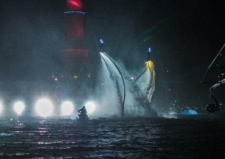 Русская водно-экстремальная «дрим-тим» покажет  «Космическую Одиссею» на  Восточном экономическом форуме