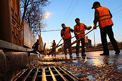 Москву отмоют от грязи